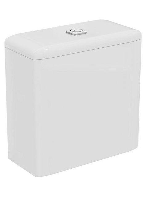 Ideal Standard TONIC II Spülkasten 6 Liter Zulauf von unten weiß K404901