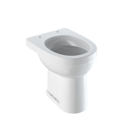 Geberit Keramag Renova Comfort Flachspül-Stand-WC Abgang senkrecht Komforthöhe 49 cm weiß mit KeraTect 218521600