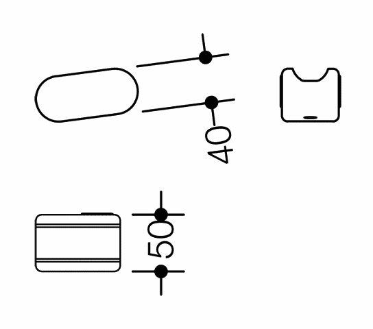 HEWI Aufrüstsatz WC-Spül rechts Funk LifeSystem White Edition Reinweiß 802.50.W060R 99