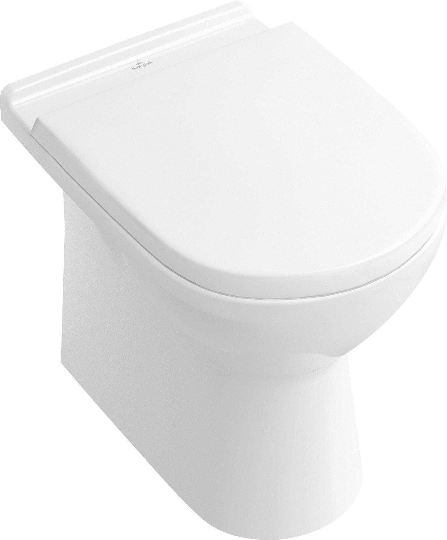 Villeroy & Boch O.novo Bidet weiß mit ceramicplus 546100R1