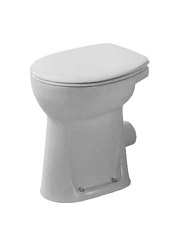Duravit Duraplus Sudan Flachspül-Stand-WC Abgang waagerecht L:46,5xB:36xH:49cm pergamon 0212094700