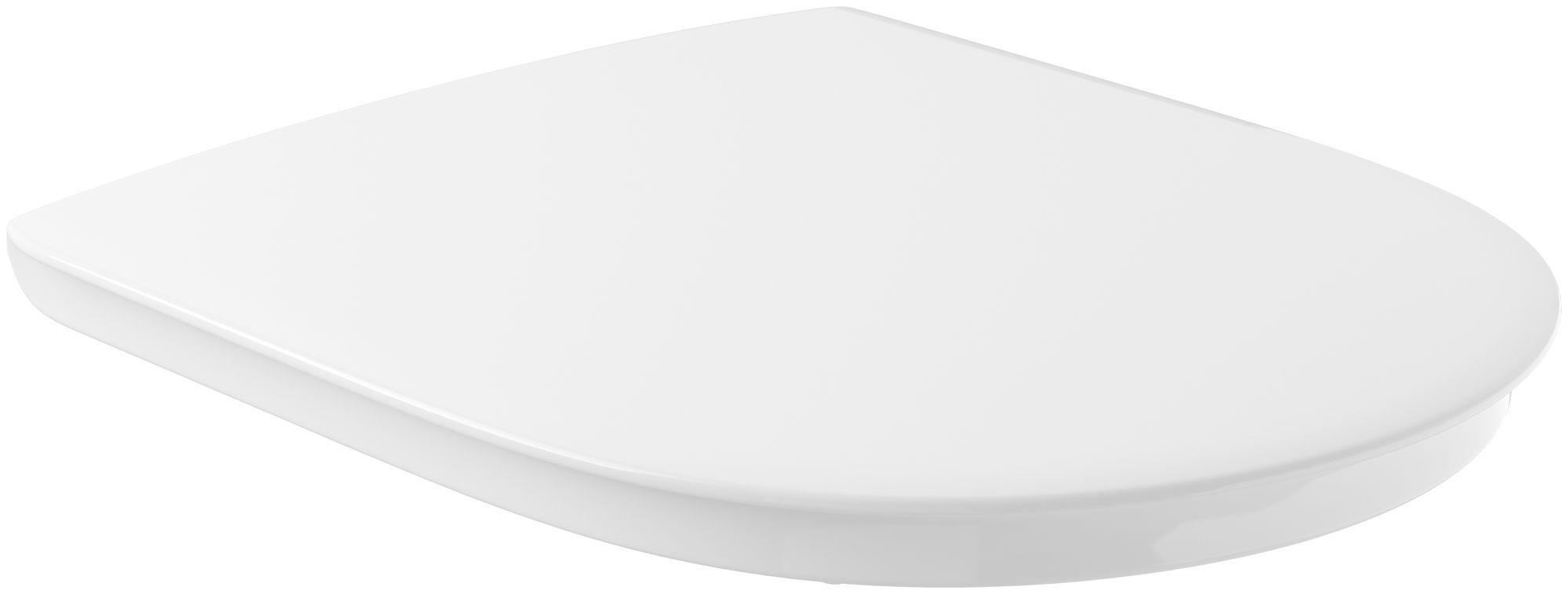 Villeroy & Boch O.Novo Vita WC-Sitz mit Absenkautomatik weiß mit AntiBac 9M67S1T1