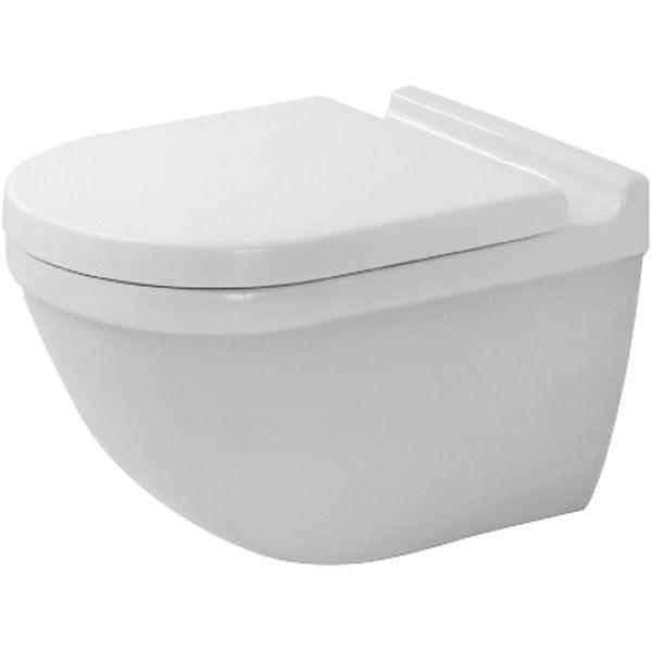Duravit Starck 3 Tiefspül-Wand-WC rimless ohne Spülrand L:54xB:36cm weiß 2527090000