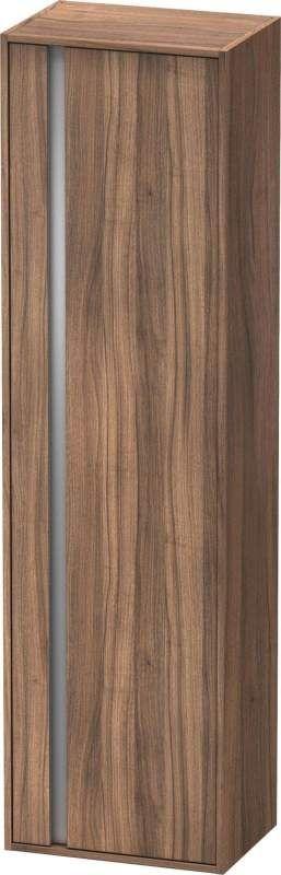 Duravit Ketho Hochschrank B:50xH:180xT:36cm 1 Tür Türanschlag rechts Nussbaum natur KT1265R7979