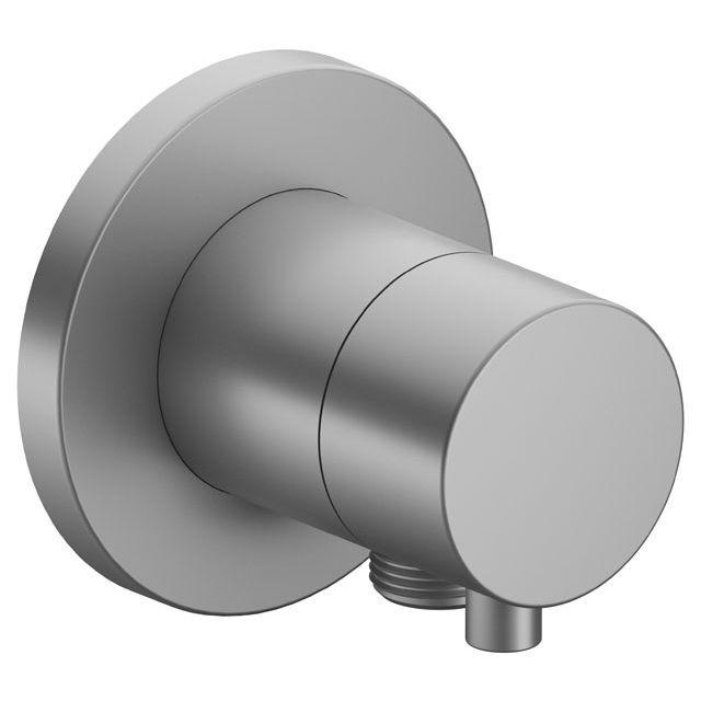 Keuco IXMO 3-Wege Ab- und Umstellventil Comfort Schlauchanschluss rund Aluminium-finish 59549171101