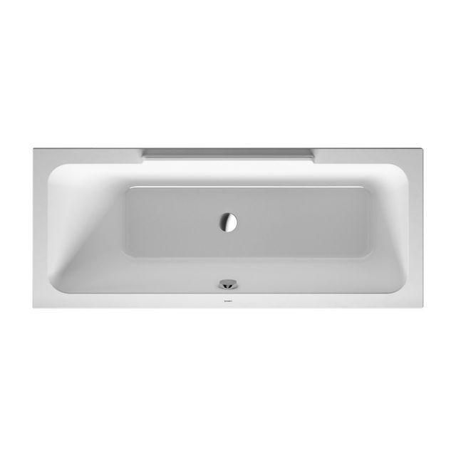 Duravit DuraStyle Badewanne 1700x700 Einbauversion Rückenschräge links weiß 700294000000000
