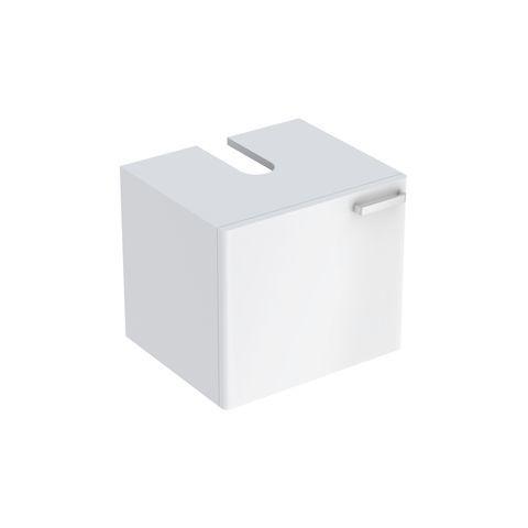 Geberit Keramag Renova Plan Waschtischunterschrank mit 1 Tür B:530xT:445xH:463mm weiß hochglanz 879050000