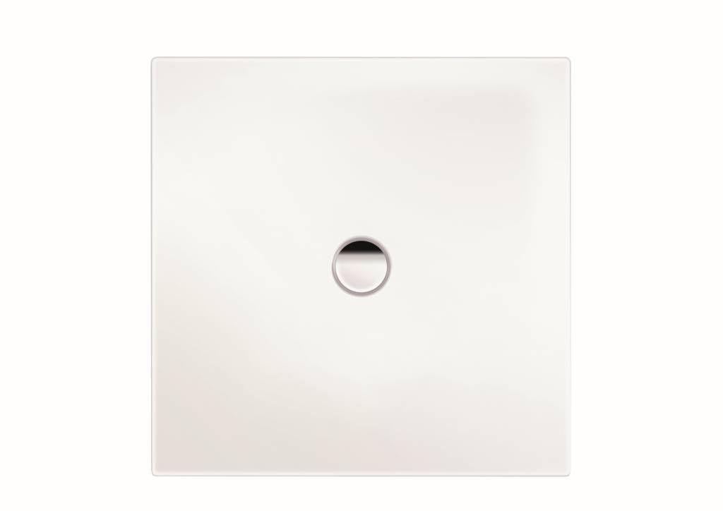 Kaldewei Ambiente Scona 915 Rechteck-Duschwanne bodeneben L:90xB:100xT:2,3cm weiß Antislip 491530000001