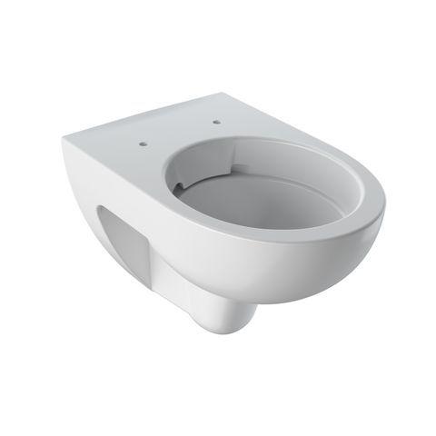 Geberit Keramag Renova Tiefspül-Wand-WC L:54cm Weiß mit KeraTect ohne Spülrand 203050600