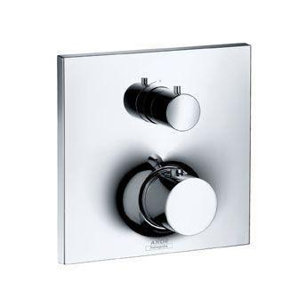 Hansgrohe Axor Massaud 18745000 Thermostat Unterputz Fertigset mit Absperrventil chrom