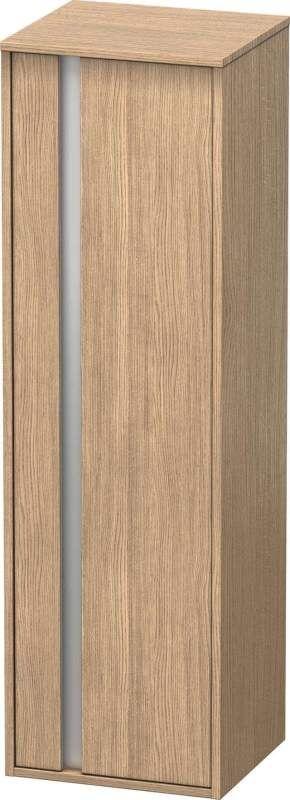 Duravit Ketho Hochschrank B:40xH:132xT:36cm 1 Tür Türanschlag rechts europäische eiche KT1257R5252
