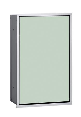 Emco asis 300 Abfallsammlermodul Unterputz H:50cm Unterputz chrom schwarz 973227930