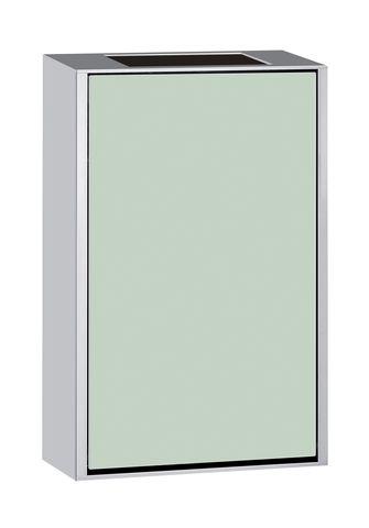 Emco asis 300 Abfallsammlermodul Aufputz H:50cm Aufputz Aluminium optiwhite 973327430