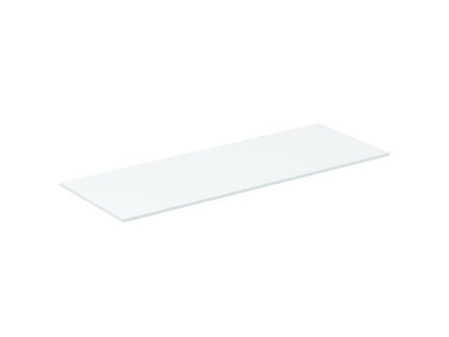 Ideal Standard Tonic II Holzkonsole B:120,2xH:1,2xT:44,4 cm für Waschtischunterschränke oder Konsolenträger weiß lackiert hochglanz R4324WG