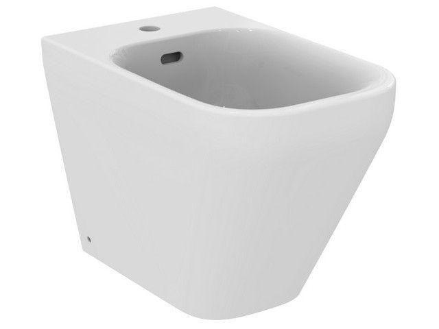 Ideal Standard TONIC II Stand-Bidet L:56xB:35,5xH:40cm 1 Hahnloch mittig mit Überlauf weiß K523801