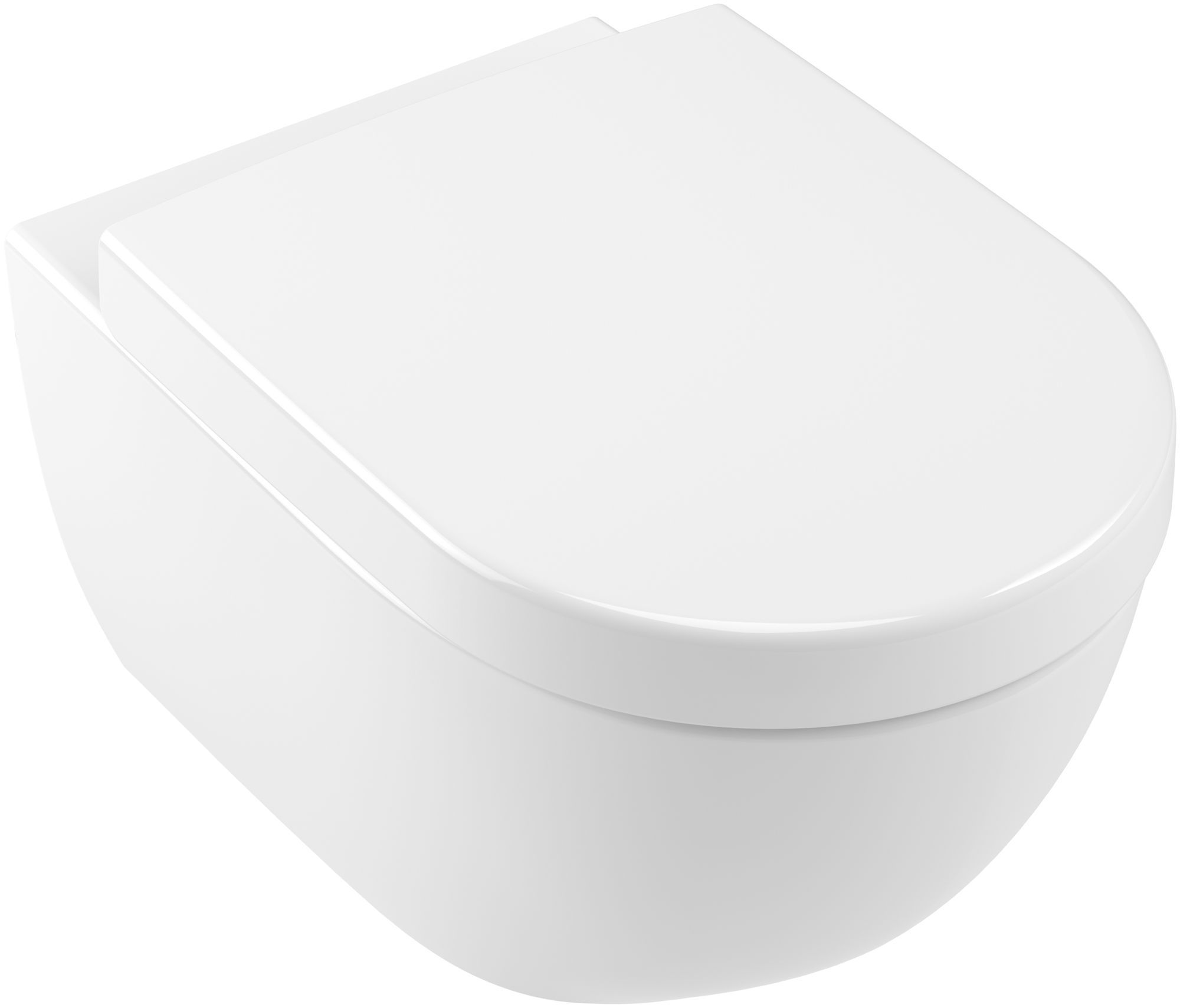 Villeroy & Boch Subway 2.0 Tiefspül-Wand-WC L:56,5xB:37,5cm Weiß Alpin mit Ceramicplus 560010R1