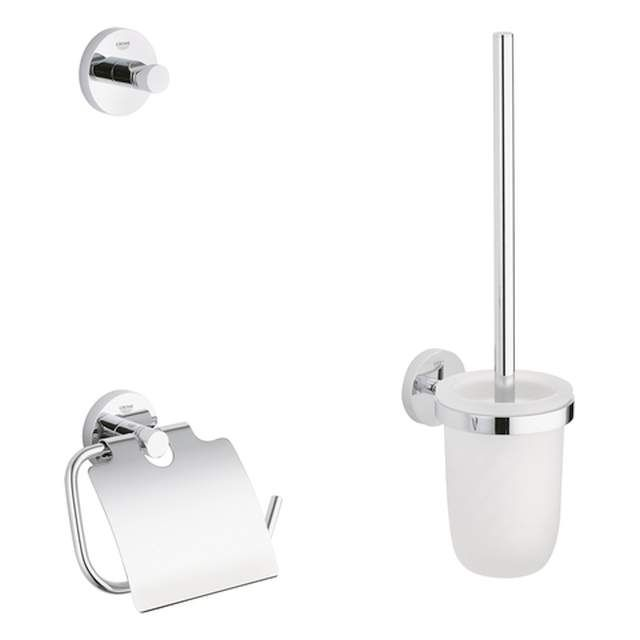 Grohe Essentials WC-Set 3 in 1 chrom 40407001
