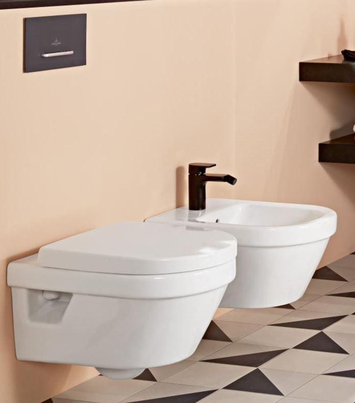 Villeroy & Boch Architectura WC-Sitz mit Absenkautomatik weiß 98M9C101
