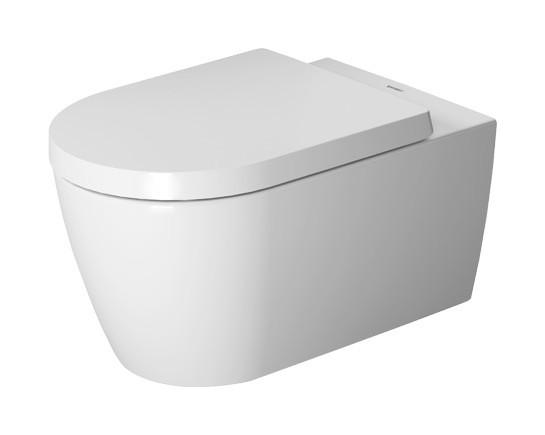 Duravit ME by Starck Tiefspül-Wand-WC L:57cm weiß mit Wondergliss 25280900001