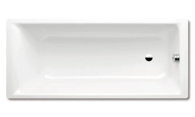 Kaldewei Ambiente PURO 654 Badewanne Rechteck 170x75cm alpinweiß Perl-Effekt Vollantislip 255434013001