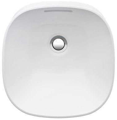 Laufen INO Einbauwaschtisch ohne Hahnloch mit Überlauf B:36,5xT:35cm weiß mit CleanCoat LCC H8173014001091