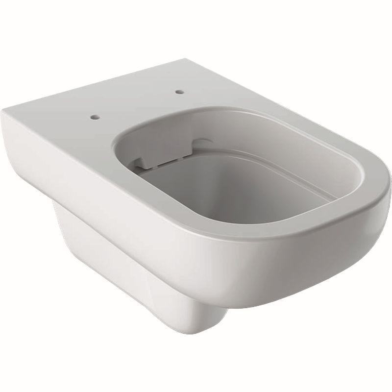 Geberit Smyle Wand-WC Tiefspüler Rimfree 54cm weiß mit KeraTect 500210018