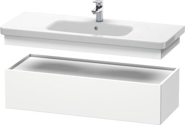Duravit DuraStyle Waschtischunterschrank B:113xH:28,2xT:44,8cm 1 Auszug weiß matt DS628301818