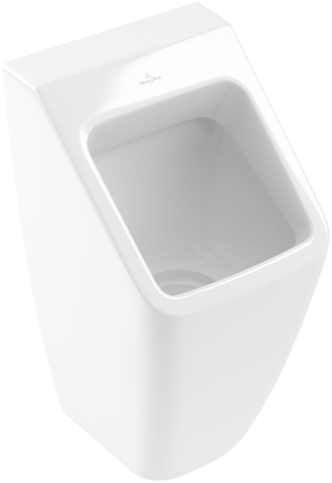 Villeroy & Boch Architectura Urinal ohne Deckel mit Zielobjekt B:32,5xH:68xT:35,5 cm weiß mit CeramicPlus 558705R1