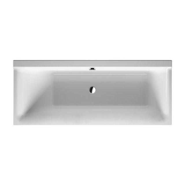 Duravit P3 Badewanne Comforts L:170xB:70 cm Einbauversion mit einer Rückenschräge links weiß 700373000000000
