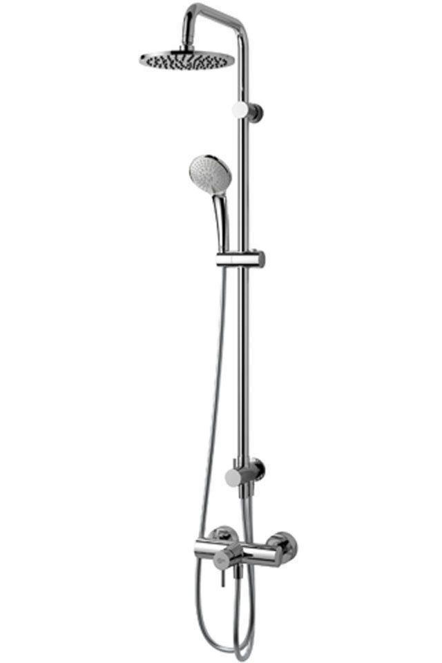 Ideal Standard Duschsystem Idealrain chrom H:1051 Ø: 200 Ausladung: 307 Aufputz A5691AA