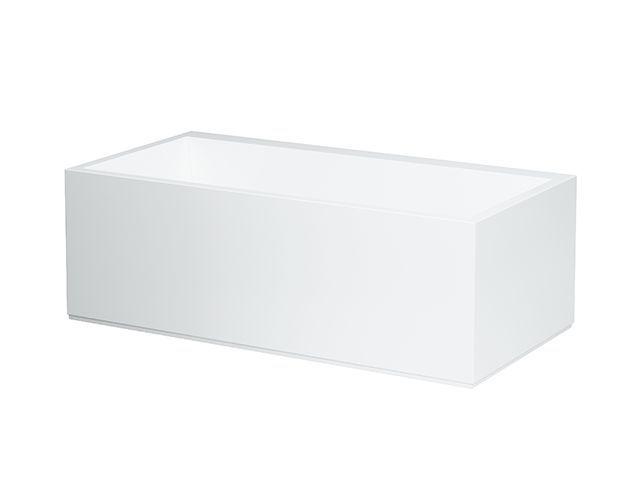 Laufen Badewanne Kartell by Laufen by Laufen LED-Beleuchtung 860x1700x590 aus Sentec (Mineralgusswerkstoff) weiss für Einbau in Ecke links H2243360006161