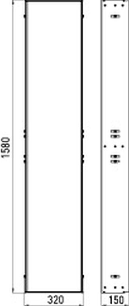 Emco asis Einbaurahmen für UP-Module 972000011