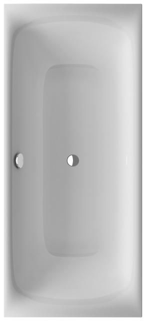 Bette Lux Silhouette Badewanne L:170xB:75xT:41cm S H: 58cm weiß 3440-000CFXXS