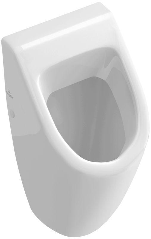 Villeroy & Boch Subway Urinal ohne Deckel Zulauf verdeckt pergamon mit ceramicplus 751300R3