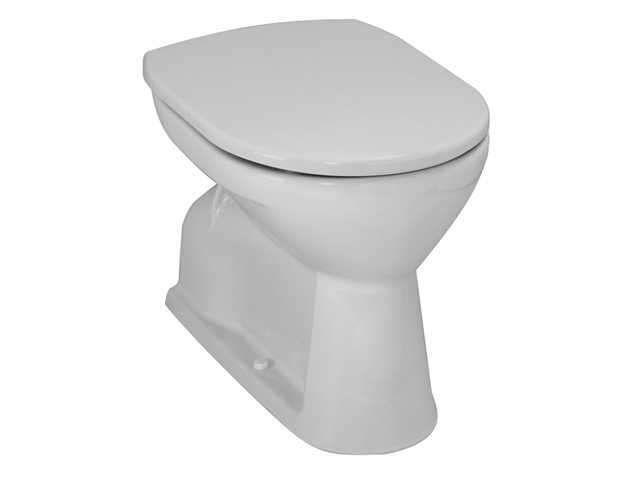 Laufen Pro Flachspül-Stand-WC L:54,5xB:36cm weiß mit CleanCoat LCC H8219594000001
