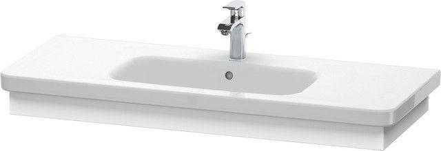 Duravit DuraStyle Waschtischblende B:113xH:8,4xT:44,8cm weiß matt DS608301818
