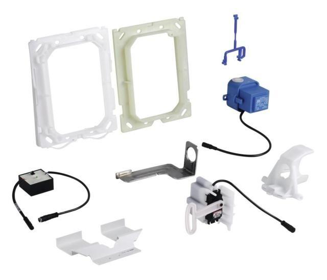 Grohe Funk-Elektronik für WC für eine zusätzliche Abdeckplatte für manuelle Auslösung Funkelektronik manuelle Betätigung chrom 38778000