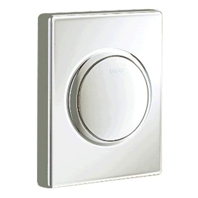 Grohe Skate Urinal-Betätigung mit Druckknopfbetätigung matt chrom 38595P00