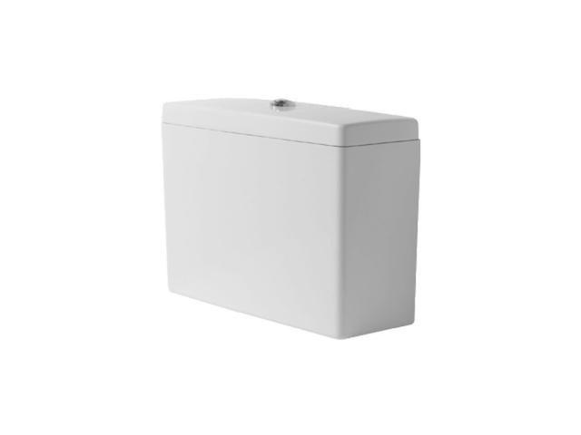 Duravit Starck 3 Spülkasten mit DualFlush Innengarnitur chrom weiß 0928000005