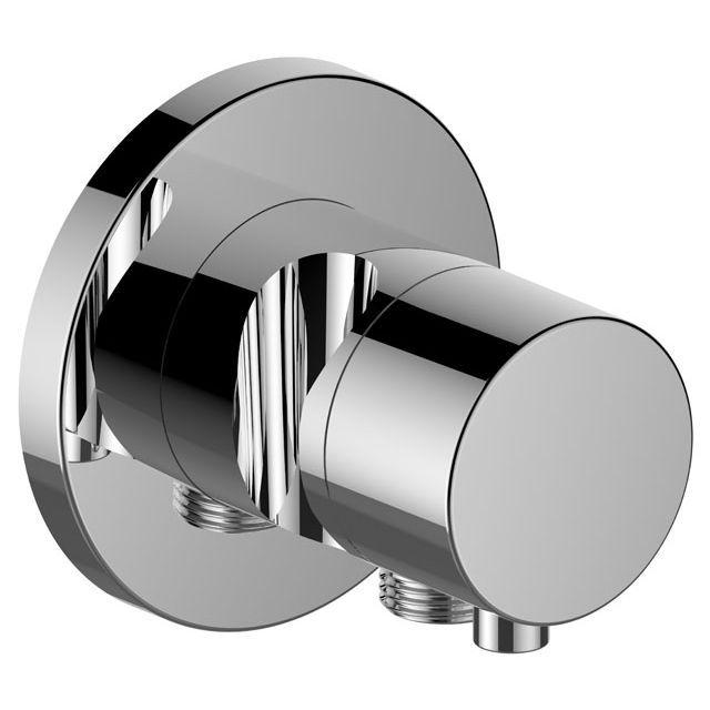 Keuco IXMO 3-Wege Umstellventil Comfort Schlauchanschluss Brausehalter rund verchromt 59548011201