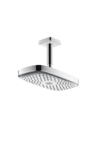 Hansgrohe Raindance 27384000 Kopfbrause Select E 300 Air 2jet 300 mmx160 mm Deckenmontage chrom