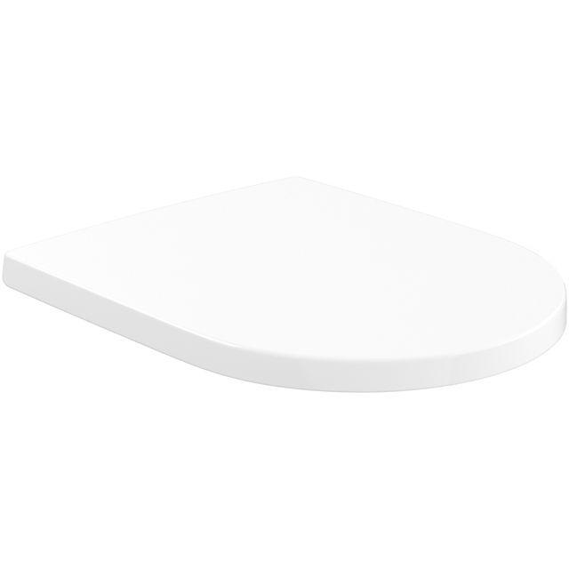 Villeroy & Boch Subway 3.0 WC-Sitz 37,4x43,8x4,2cm oval Stone White mit CeramicPlus 8M4261RW