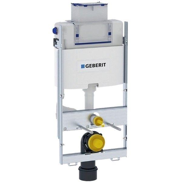 Geberit GIS Element für Wand-WC 100cm mit Omega Unterputz-Spülkasten 12cm Betätigung vorne oben 461151001