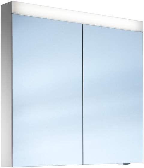 Schneider Pataline LED Spiegelschrank B:80xH:76xT:12cm 2 Türen weiß 161.080.02.02