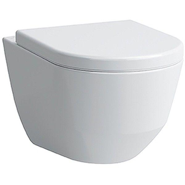 Laufen Pro Tiefspül-Wand-WC spülrandlos L:49xB:36cm weiß H8209650000001