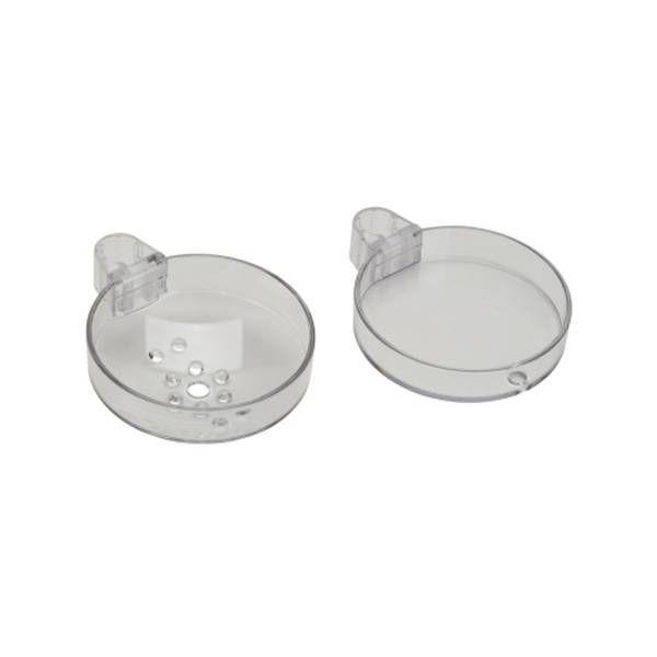 Hansgrohe Casetta Unica'88 Seifenschale für Brausestangen Ø 22mm glasklar 28675000