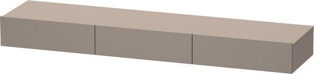 Duravit DuraStyle Schubkastenablage 440x1800x150 3 Schubkästen basalt matt/ basalt matt DS827304343