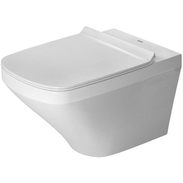 Duravit DuraStyle Tiefspül-Wand-WC rimless ohne Spülrand L:54xB:36cm weiß 2551090000