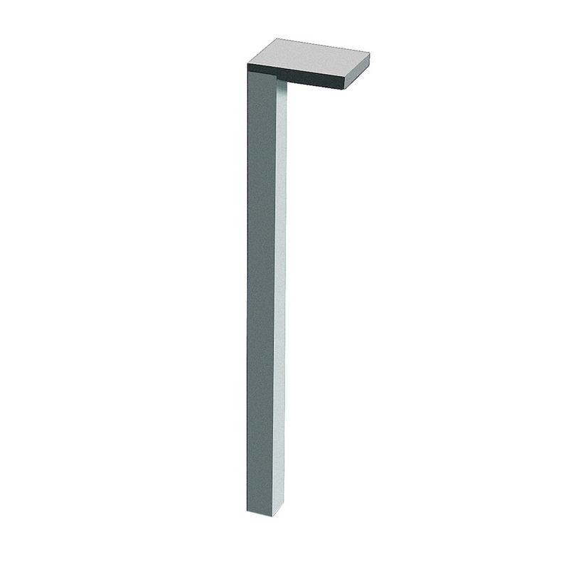 Laufen Space Füße (2 Stück) Aluminium dunkelbraun H4112201601061