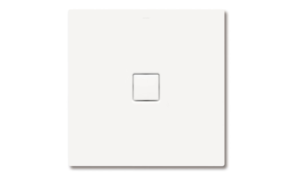 Kaldewei Duschwanne CONOFLAT 790-1 120x120cm schwarz Perl-Effekt 466000013701
